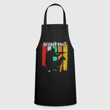 Hunter Hunting Hound Retro Style Vintage Hunting - Cooking Apron