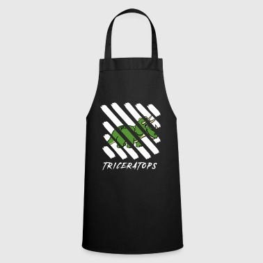 Horns Triceratops dinosaur - Cooking Apron