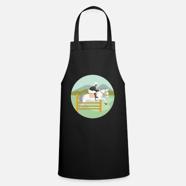 Show Jumping Show jumping horse - Cooking Apron