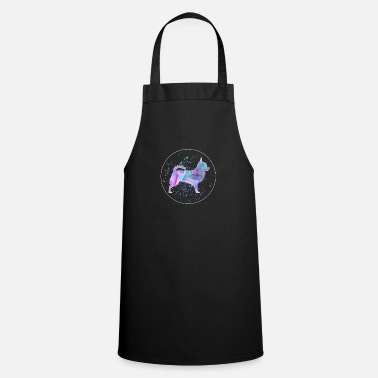 Dog Training Chihuahua Dog Watercolour Artwork - Cooking Apron