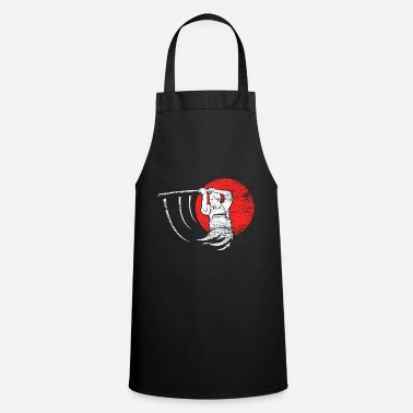 Bamboo Kendo bamboo sword fencing Japan gift - Cooking Apron