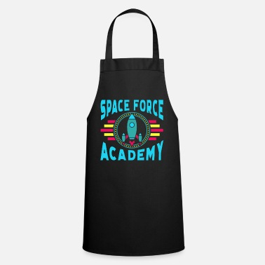 Army Space Force Academy Art, Vintage Retro Novelty - Cooking Apron