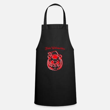 Forest Tiger Christmas - Cooking Apron