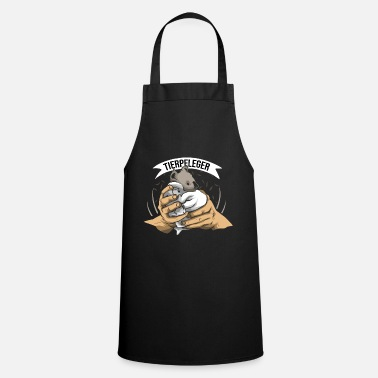 Boss Zookeeper work work animal park gift - Cooking Apron