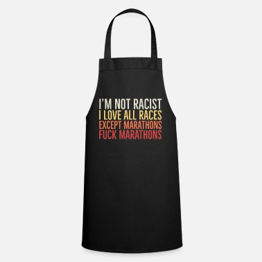 Racists No racist - Apron