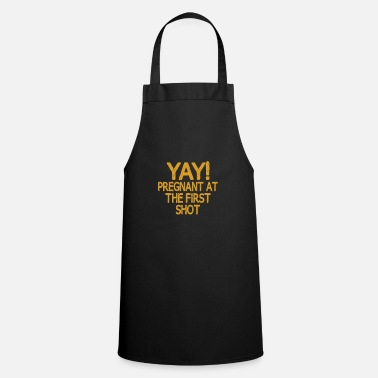 Funny Pregnancy Pregnancy Funny saying - Apron