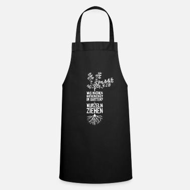 Pulling Roots Mathematician Flachwitz - Apron