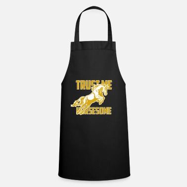 Back Yard Horse riding yard gift - Apron