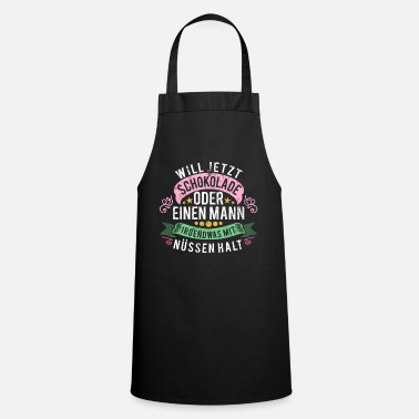 Fattening Foods chocolate - Apron