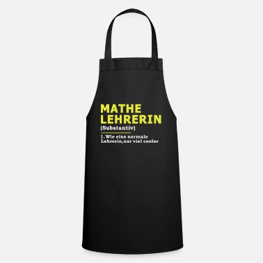 Maths Teacher Math Teacher Math Math Teacher Gift - Apron