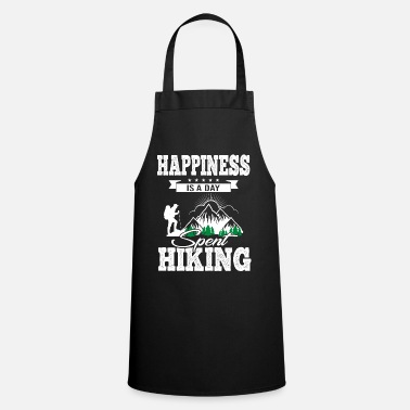 Spring Happiness Is A Day Spent Hiking - Apron