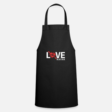 Canoe Kayak love - Apron