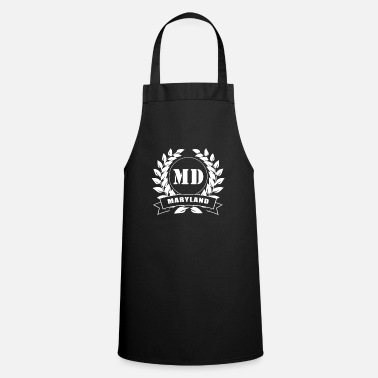 Wreath Maryland laurel wreath USA - Apron