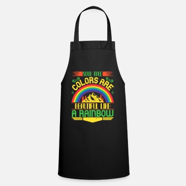 Courage Rainbow - Colour and Sunshine - 50 - Apron
