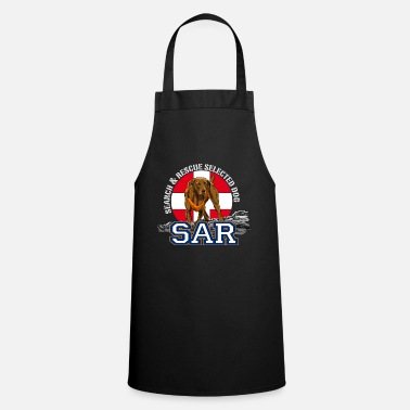 Search Dog search and rescue dog 1 - Apron