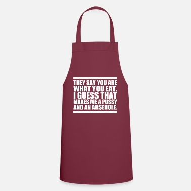 What You Are What You Eat - Apron