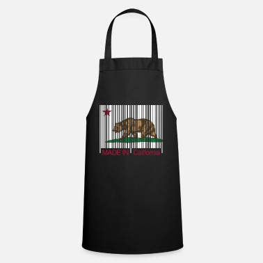 Made in California Barcode - Tablier