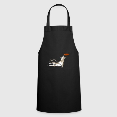 Frisbee dog frisbee - Cooking Apron