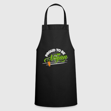 Image Vegan - Proud to be Vegan (Carrot) - Cooking Apron