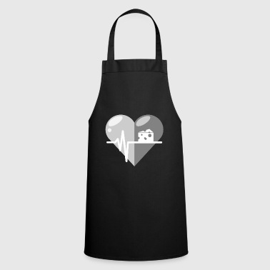 Cheese Cheese heartbeat - Cooking Apron
