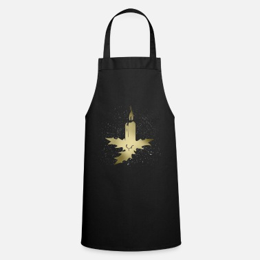 Candle candle - Cooking Apron