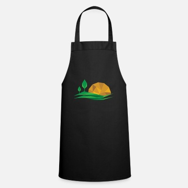 Enviromental Nature sunset gift idea landscape - Apron
