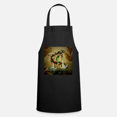 Mouse Little cute fairy with fantasy tree - Cooking Apron