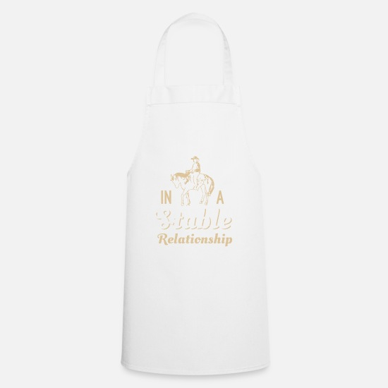 Horse Sayings Aprons - Horse saying - Apron white