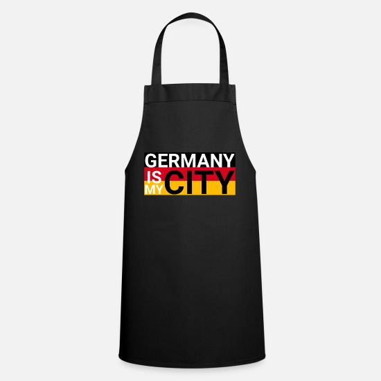 Gift Idea Aprons - Germany is my city special - Apron black