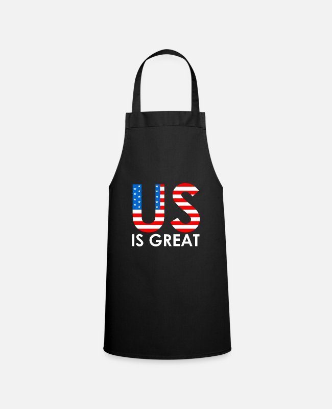 New York Aprons - US is great - Apron black