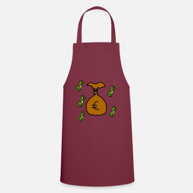 Wealth Money - wealth - Apron