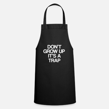 Note Clue do not grow up it is a trap 01 - Cooking Apron