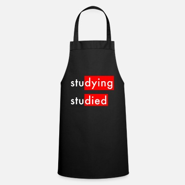 Studies Studying Studied - Apron