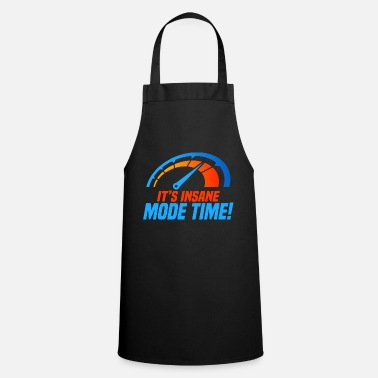 It's Insane Mode Time gift electric car - Apron