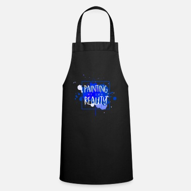 Paint Brush Painter Artist Art Paint Painting Brush Paint - Cooking Apron