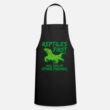Reptile reptiles - Cooking Apron