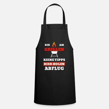 Am grilling barbecue fans steak gift - Cooking Apron