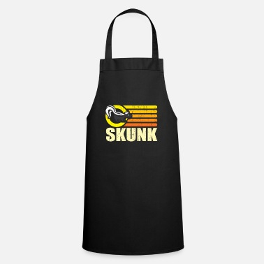 Smelly Skunk animal smelly gift man - Cooking Apron