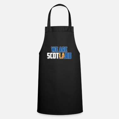 British We are Scotland gift - Cooking Apron