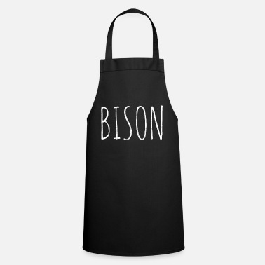 Meat bison - Cooking Apron