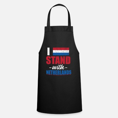 Holland National flag of Amsterdam Netherlande Holland - Cooking Apron