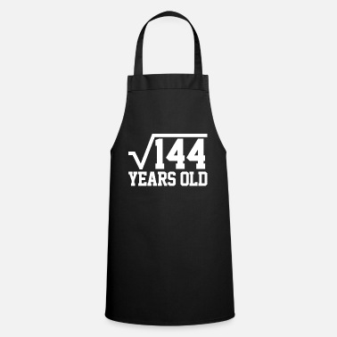 Math Root 144 12 birthday math - Cooking Apron