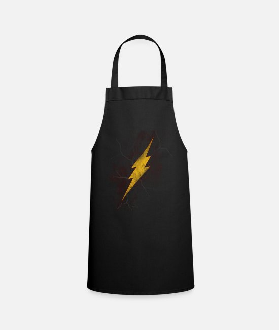 Speed Aprons - lightning - Apron black