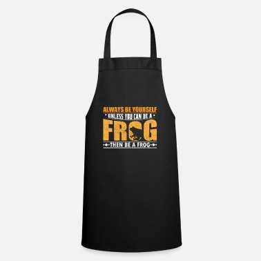 Frog Frog toad saying gift - Cooking Apron