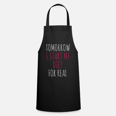 Diet Diet - Cooking Apron