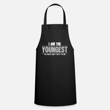 Siblings Youngest sibling - Cooking Apron