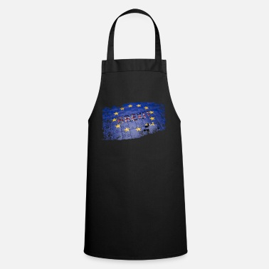 Government Europe, England, Brexit, UK, EU stars - Apron