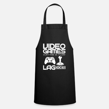 Husband video games - Apron