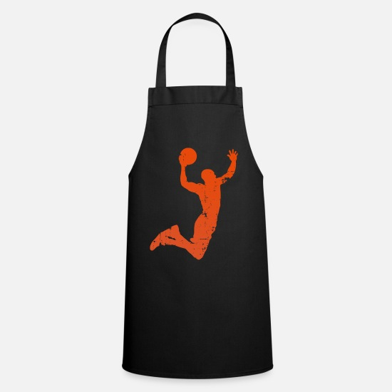 Ball Aprons - Basketballer Sport Dunk B Ball - Apron black