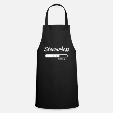 Airline Stewardess stewardess Loading Airline Gift - Schort